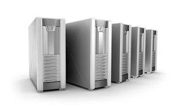 Image of some server towers